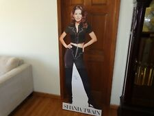Shania Twain Rare Signed Promo Life Sized Stand Up Display Country Superstar COA