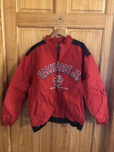 NASCAR Large Earnhardt Jr Budweiser Racing Jacket Coat Red (NJ-3024)