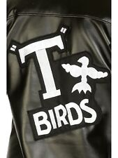 Boys T-Birds Gang Jacket 1950 50s Black Grease Danny T bird Costume