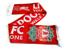 Liverpool FC Fanschal Jacquard Scarf You'll Never Walk Alone