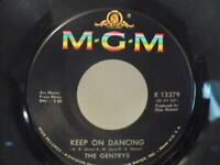 """ROCKER-45 """"Keep On Dancing/Make Up Your Mind"""" - """"The Gentrys"""" - MGM #K-13379."""