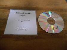 CD Pop Thomas Dybdahl - Cecilia / U (2 Song) Promo LAST SUPPA RECORDINGS