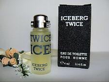Mignon °º✿ ICEBERG TWICE ✿º° HOMME edt  4ml  mini perfume miniature