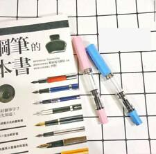 〝SEALED〞TWSBI ECO 2018 SE Baby Pink + Baby Blue Fountain Pens (Set) Fine Nibs