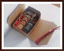 Jack Daniels Old No. 7 Whiskey 5 cl Geschenk mit DreiMeister Schokolade & Fudge