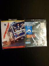 Speed, Point Break Both 4k + Blu-ray No Digital Copy, Lot D4.