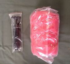Burst Resistant Yoga Exercise Ball with Pump Red 75CM Diameter