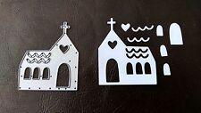 Sizzix DIE Cutter Matrimonio Chiesa si adatta thinlits Big Shot Cuttlebug