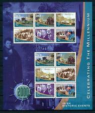 Ireland MNH SS, Millennium, Norman Invasion, UN Peace Force, Battle of Earls War