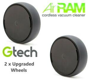 Genuine set AR29 AR30 K9 Mk2 Gtech AirRam wheels replacement fix upgraded part