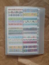 Washi Tape Sample Folder - huge collection, around 550+ tape samples