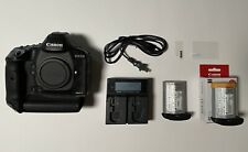 Canon EOS-1D X Mark II 20.2MP DSLR Camera - Black - Used -Good Conditions