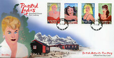 British Antarctic Terr BAT 2017 FDC Painted Ladies Sophia Loren 4v Cover Stamps