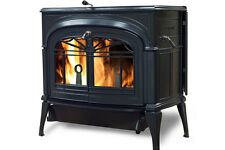 Vermont Castings Encore FlexBurn Twilight Wood Stove Free Standing Dark Blue