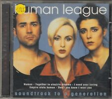 HUMAN LEAGUE - soundtrack to a generation CD