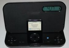 iHome iP45BZ Portable Stereo Rechargeable Speaker System/Alarm Clock iPod Dock