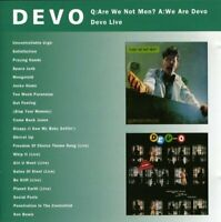 Devo - Q: Are We Not Men? A: We Are Devo/Devo Live [CD]
