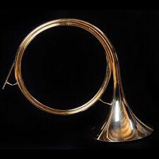 """Trompe de chasse semi-légère """"Nautile"""" + embouchure neuve, jagdhorn"""