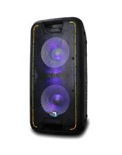 "Dolphin SP-210RBT Rechargeable Karaoke Party Speaker System Pro Dual 10"" 2400W"