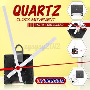 UK MSF Atomic Radio Controlled Ticking Quartz Clock Movement Mechanism DIY KIT