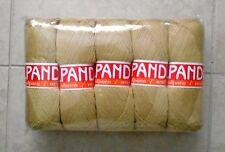Blend Alpaca Knitting Yarn Wool 5 Skeins 500g Beige Magnificent