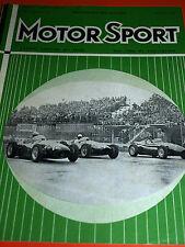 Famous PORSCHE 356 30000 MI (ca. 48280.32 km) test 1955 SIRACUSA GP Connaught alta TONY BROOKS