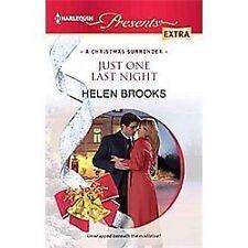 Brooks, Helen .. Just One Last Night