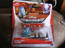 DISNEY PIXAR CARS 2 MEL DORADO SHOW SERIES WHEEL WELL GUIDO