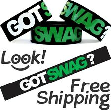 Got Swag Item Merchandise Wristband Free Shipping on Brand New Swagg Bracelet