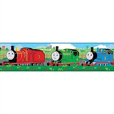 THOMAS THE TANK ENGINE WALLPAPER BORDER peel & stick James Percy train 15' decor