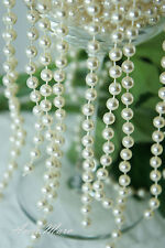 1.5 Meter 6mm Cream Pearl Garland String for Wedding/Bridal/Corsages/Decorations