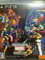 [Used] Ultimate Marvel vs. Capcom 3 PS3 X-MEN STREET FIGHTER Playstation3 F/S