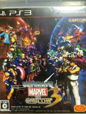 (Used) Ultimate Marvel vs. Capcom 3 PS3 X-MEN STREET FIGHTER Playstation3 F/S