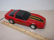 Playtime R/C 5 Function 1984 Corvette FOR PARTS OR DISPLAY