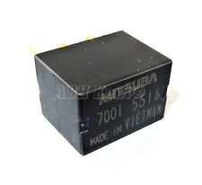 644-Honda (00-15) 4-Pin Power Black Micro Relay Mitsuba 7001-5516 12VDC 70015516