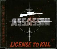 Assassin License To Kill CD new Private indie 80's metal official reissue