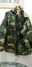Military Style Woodland ECWCS Goretex Parka-NEW with Tags-M