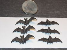 Dollhouse Miniature Halloween Bats 6 Detailed 1:12 In Scale H138 Dollys Gallery