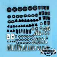 124 Pieces Complete Fairings Bolts Kit Screws Washers For Honda CBR1000RR 04-05