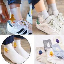 Cute Women's 3D Cartoon Animal Short Socks Cotton Warm Soft Ankle Socks Hosiery