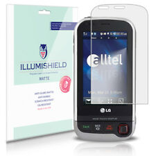 iLLumiShield Matte Screen Protector w Anti-Glare/Print 3x for LG Tritan