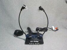 TV Ears 2.3 MHz Wireless TV Headset w/Silicone Tips + Charger Base Transmitter