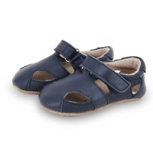 NEW SKEANIE Baby & Toddler Leather Sunday Sandals Navy. RRP $54.95
