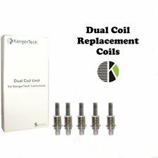 Authentic Kangertech Dual Coil Unit for Kangertech cartomizer 1.5ohm NiCr 5pcs