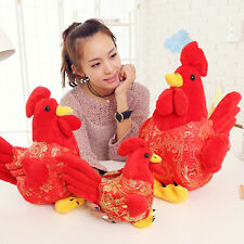 2017 Mascot Chicken Plush Cock Stuffed Animal Stuffed Rooster Kids Toy Do Dshq