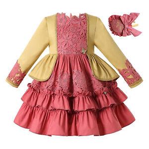 Pettigirl Lace Girls Wedding Party Dress  2 3 4t 5 6 8 10 12 Christmas Dresses