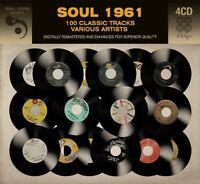 SOUL 1961  4 CD NEU