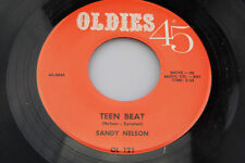Sandy Nelson: Teen Beat / Baby Come Along With Me  [Unplayed Copy]