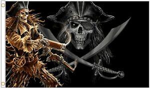 Pirate Pistols 5'x3' Flag