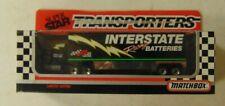 Matchbox ~ 1992 Super Star Transporters ~  INTERSTATE BATTERIES RACING TEAM